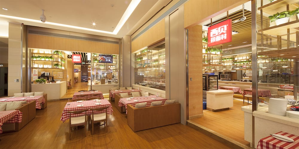 xibei restaurant design