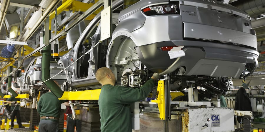 lean product development JLR