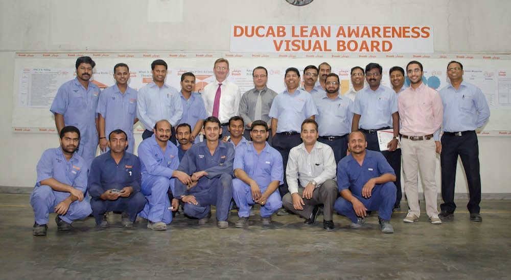 Ducab invests on people engagement