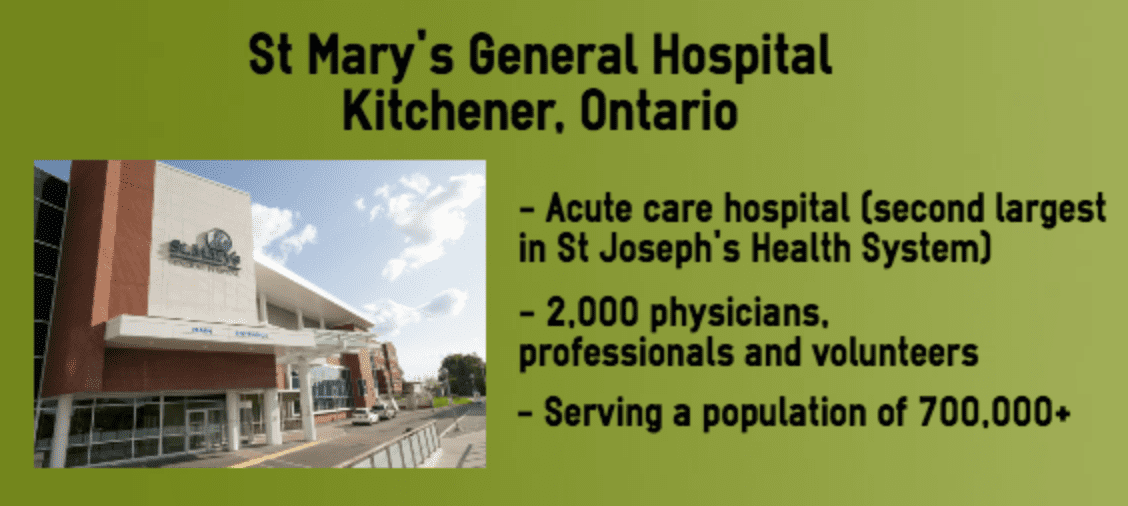 St Mary's General Hospital info