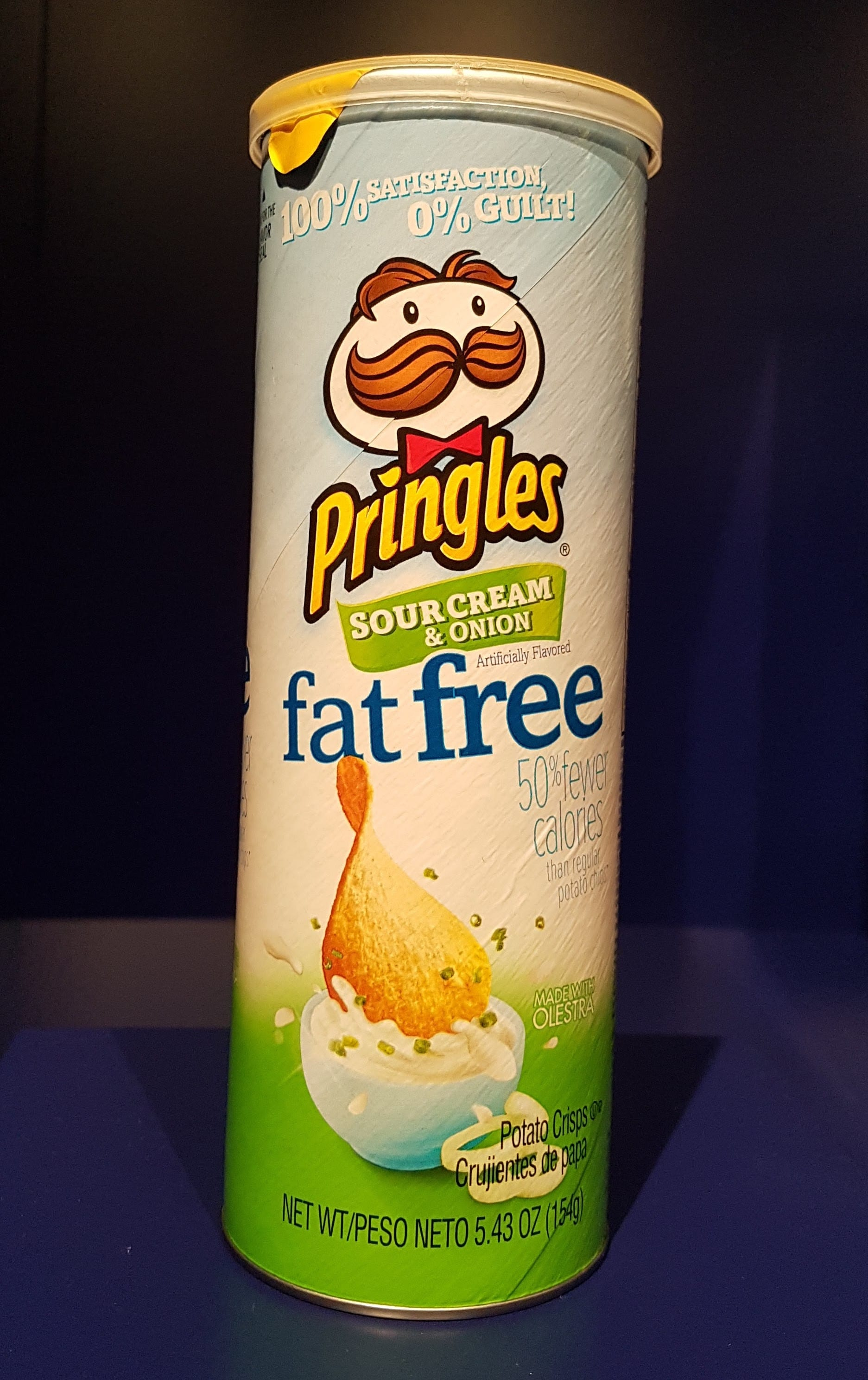 Fat Free Pringles at Museum of Failure