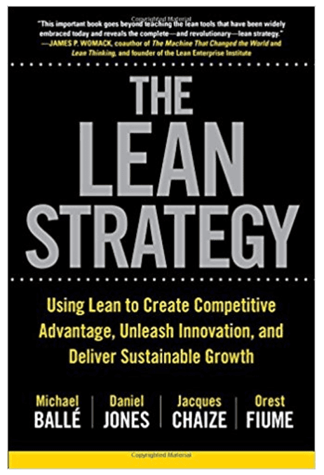 lean strategy book cover