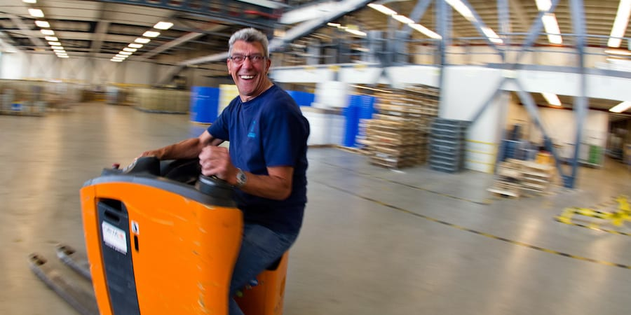 lean logistics holland