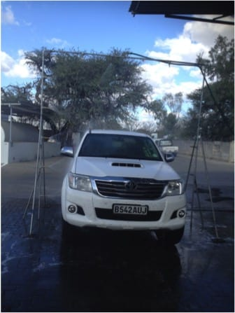 Servicing cars in Botswana with lean