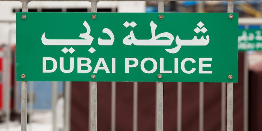 lean management dubai police
