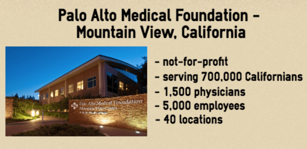 Palo Alto Medical Foundation info