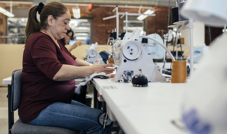 lean thinking for sustainable fashion at Eileen Fisher