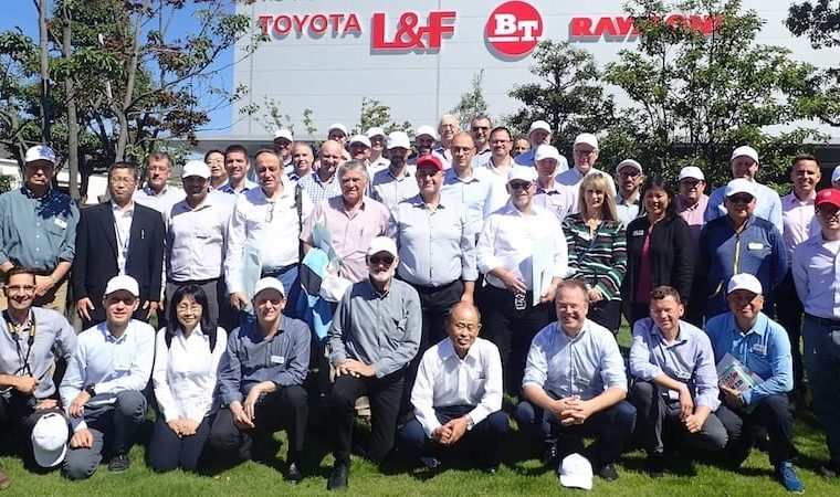 lean global network at Shokki plant
