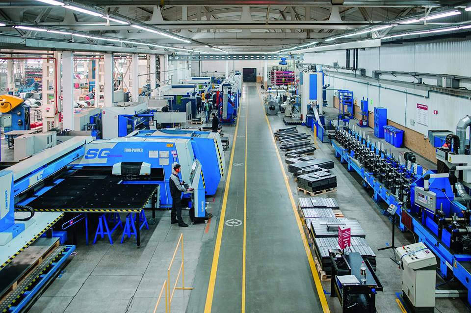 Modern Expo factory lean manufacturing