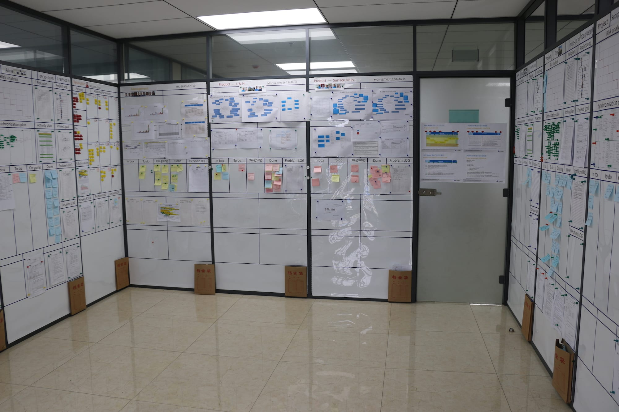 The lean Pulse Room in China