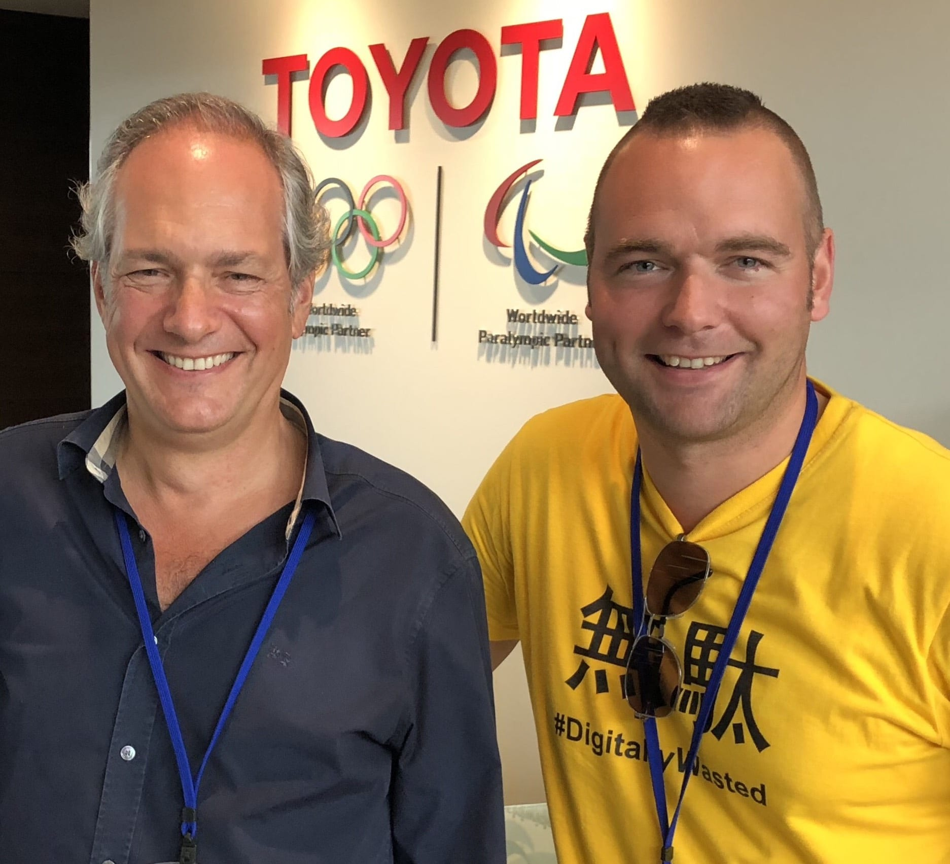 Michael Ballé and Daryl Powell visiting Toyota in Japan