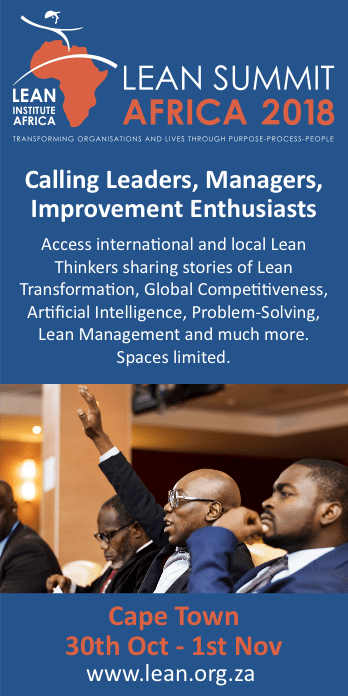 Lean Summit Africa 2018