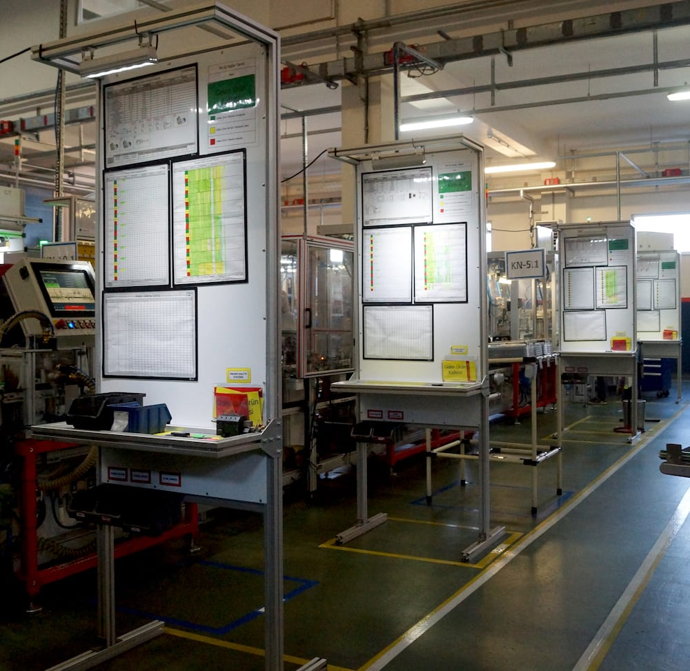 Implementing flow and work cells at Turas Gas