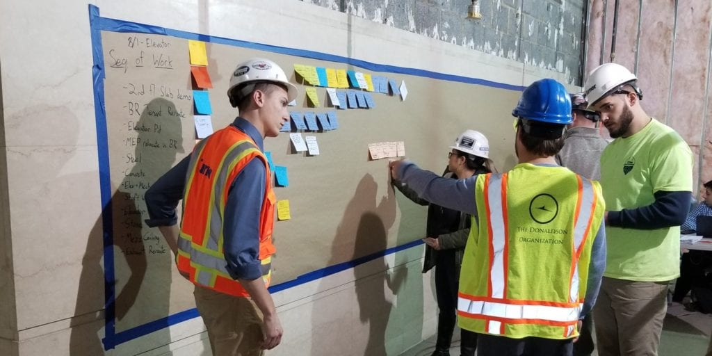 Lean construction at Turner