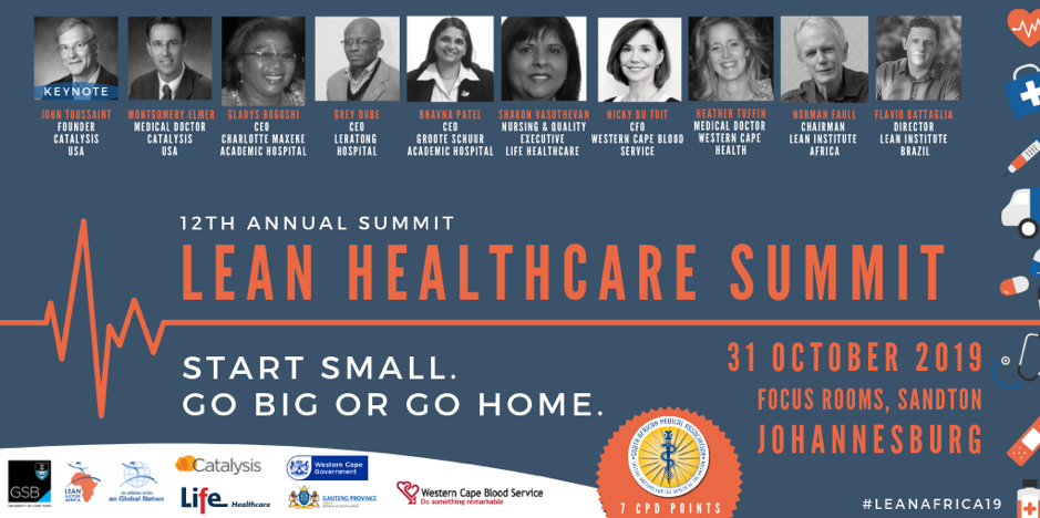 The Lean Healthcare Summit in Johannesburg 2019