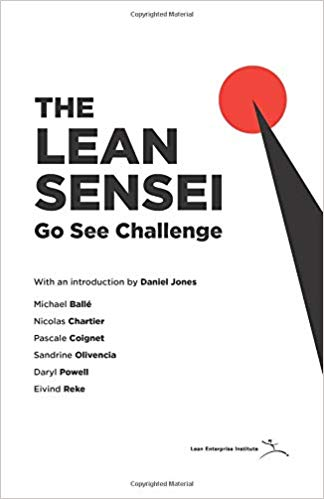 The Lean Sensei book cover