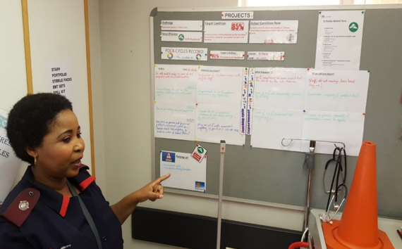 Toyota Kata in a Life hospital in South Africa
