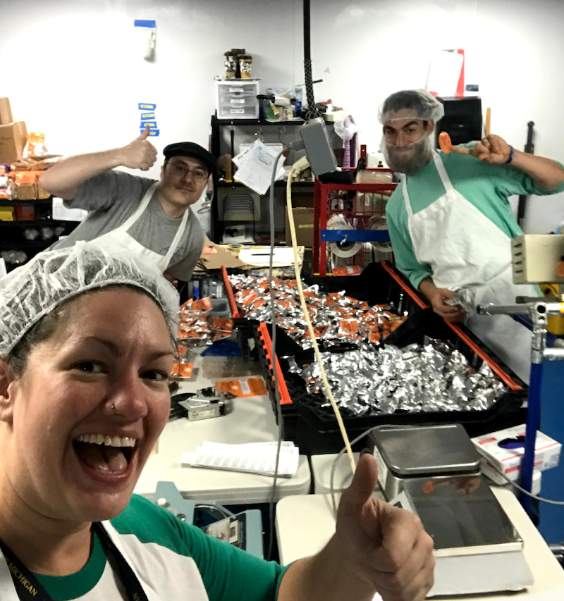 Lean coaching at the Zingerman's candy factory