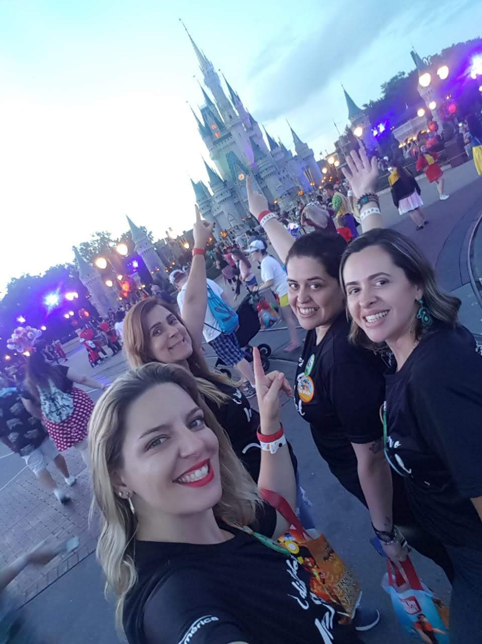 The SulAmérica sourcing team at Walt Disney World