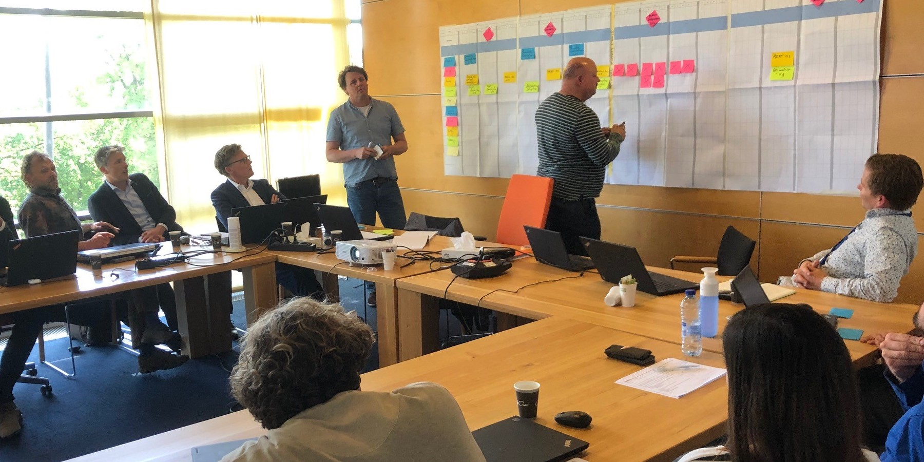 Lean planning is used at TenneT to better manage large infrastructure projects