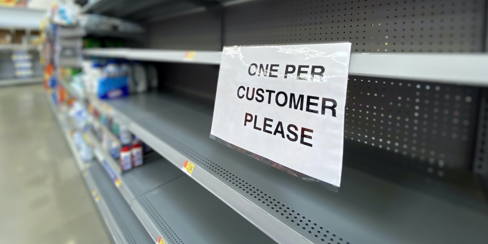 Panic buying in the Coronavirus emergency and what a lean supply chain should look like