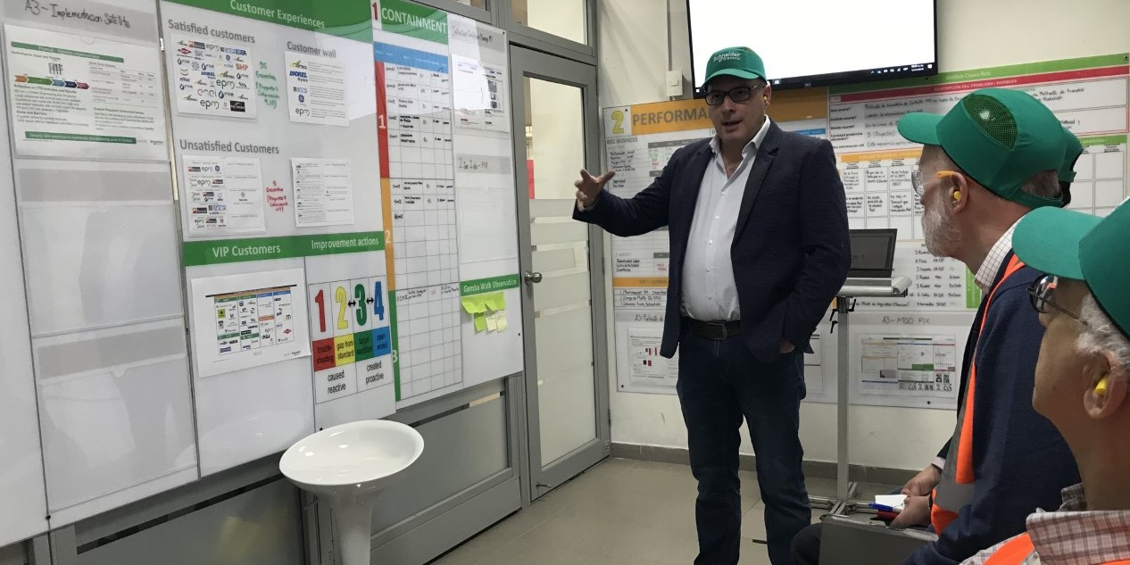 A Colombian factory has restructured its management system around Art Smalley's Four Types of Problems