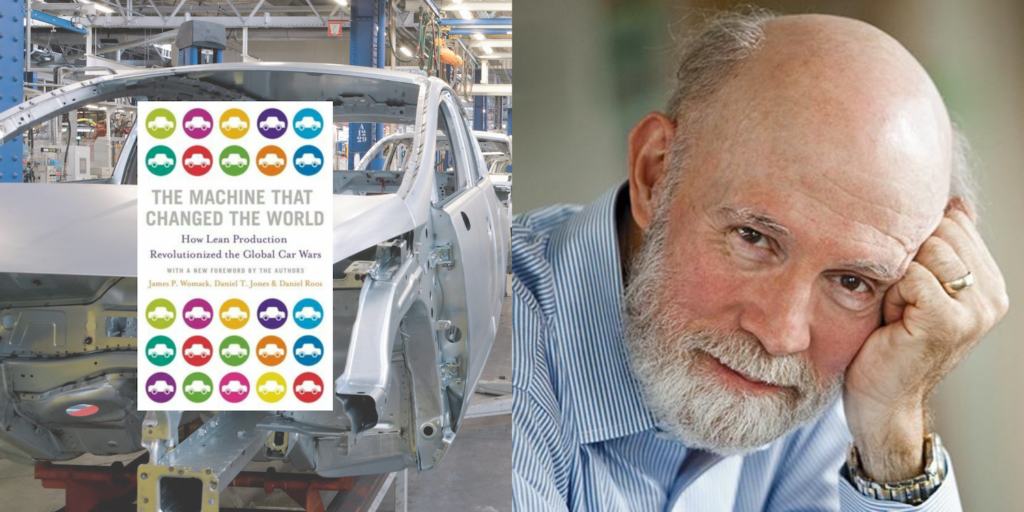 An interview with Jim Womack 30 years after The Machine that Changed the World came out
