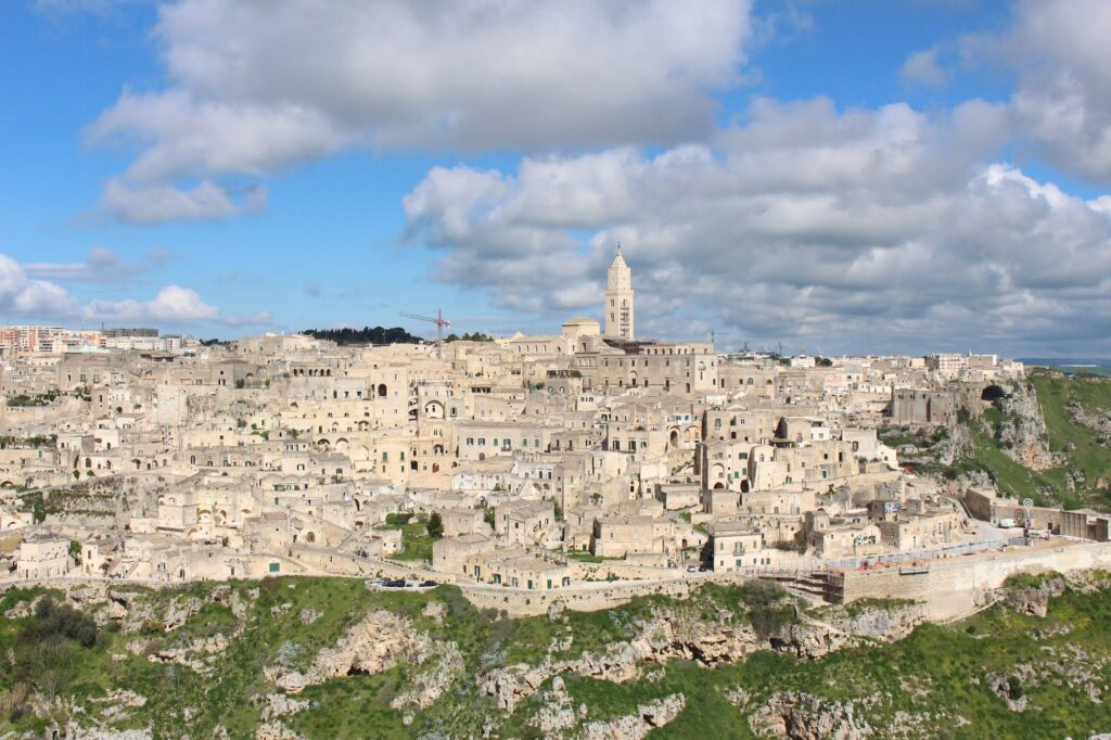 A view of Matera