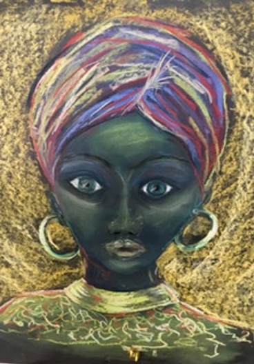 Lady Wisdom, a painting by Sharon Visser