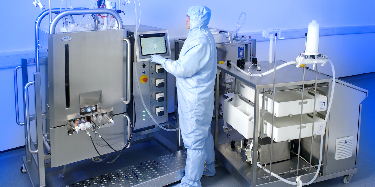 Pall Corporation used lean thinking to develop a process supporting the mass production of a Covid-19 vaccine