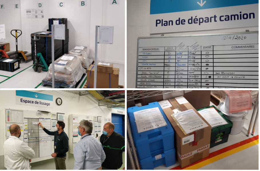 Lean improvements in the logistics department of Thales LAS