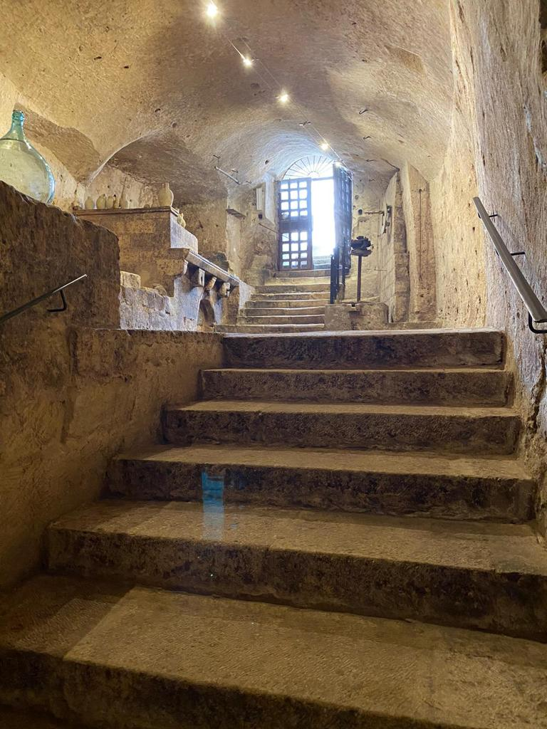 The old stairs of the Museum