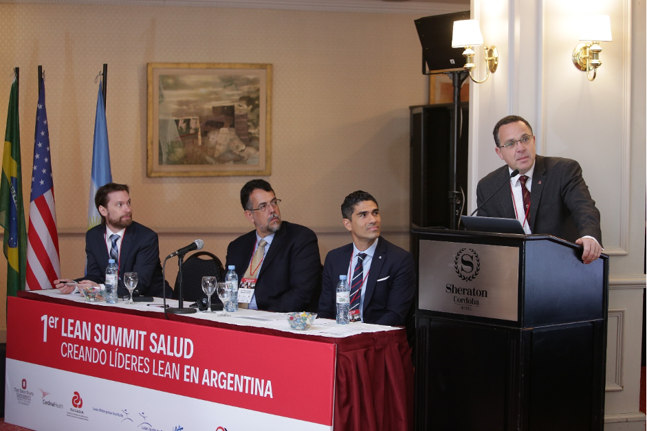 The first lean healthcare summit in Argentina, in 2018