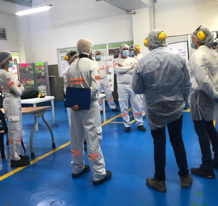 Gemba walk with Lean Institute Colombia