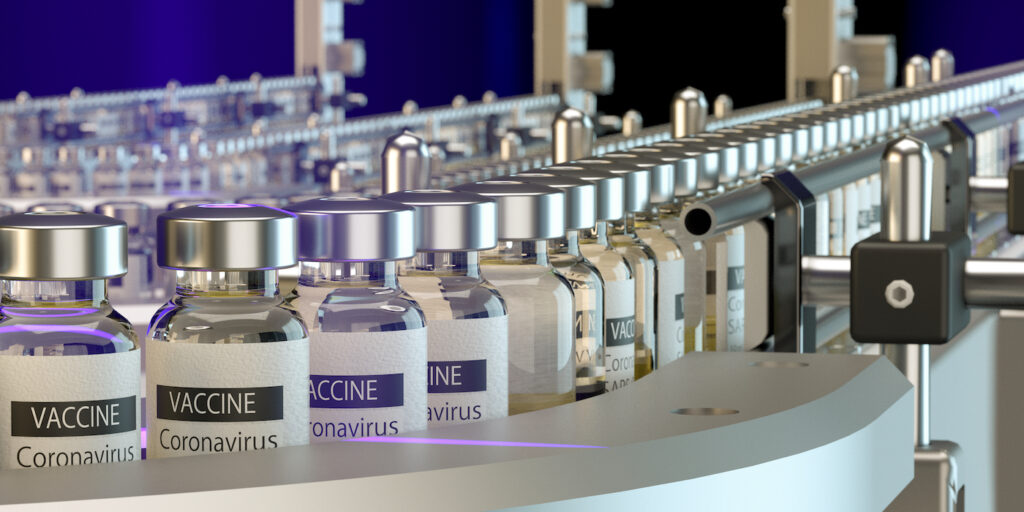 Lean manufacturing and how to quadruple the global production of vaccines